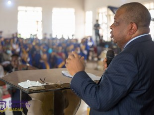 Keynote address at the second Matriculation Ceremony of Dominion University, delivered by Mr Joseph Olasunkanmi Tegbe, FCA, FCIT