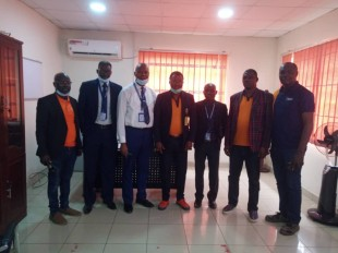 Visit of Dominion University Management Staff to IBEDC, Oluyole Regional Office.